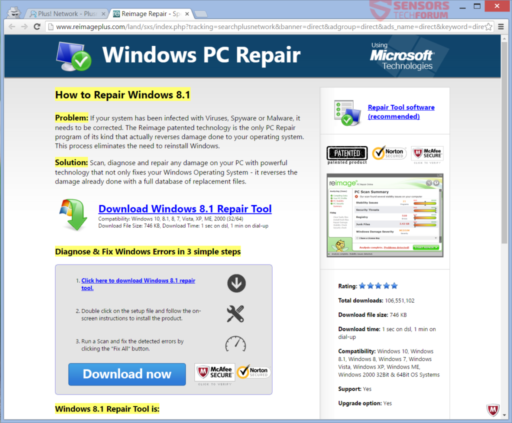 stf-plusnetwork-plus-network-windows-pc-repair-reimage-plus